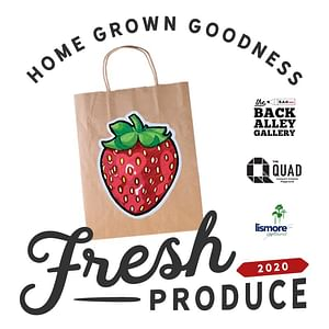 The Quad co-presents - Fresh Produce by Back Alley Galleries